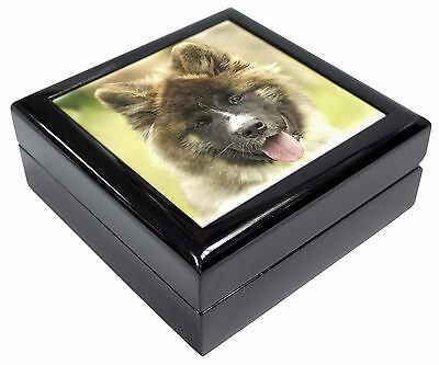 Beautiful Akita Dog Picture Jewellery Box Christmas Gift, AD-A4JB