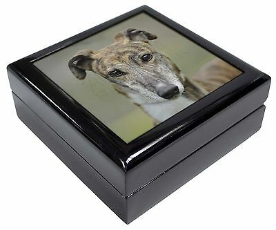 Greyhound Dog Glass Paperweight in Gift Box Christmas Present AD-GH2PW