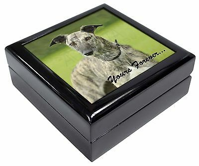Greyhound Dog 'Yours Forever' Keepsake/Jewellery Box Christmas Gift, AD-LU7yJB