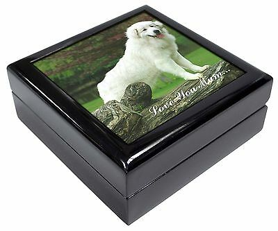 Pyrenean Mountain Dog 'Love You Mum' Keepsake/Jewellery Box Christm, AD-PM1lymJB