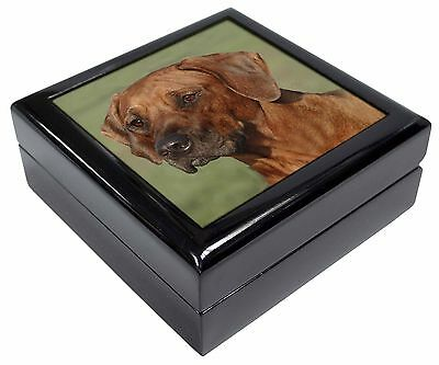Rhodesian Ridgeback Dog Picture Jewellery Box Christmas Gift, AD-RR1JB