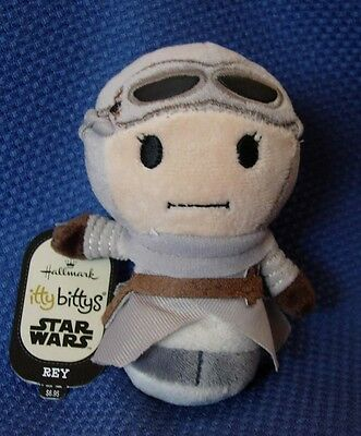 Hallmark Star Wars The Force Awakens Itty  Bittys Plush ~ Rey