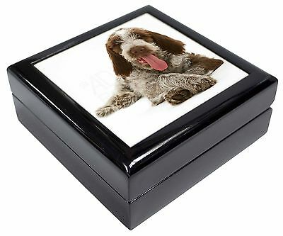 Italian Spinone Dog Picture Jewellery Box Christmas Gift, AD-SP2JB