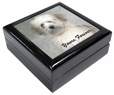 Tibetan Terrier 'Yours Forever' Picture Jewellery Box Christmas Gift, AD-TT1yJB