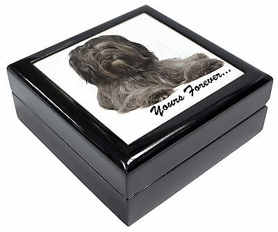 Tibetan Terrier 'Yours Forever'  Picture Jewellery Box Christmas Gift, AD-TT2yJB