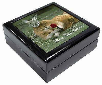 Kangaroo+Rose 'Love You Mum' Picture Jewellery Box Christmas Gift, AK-1RlymJB