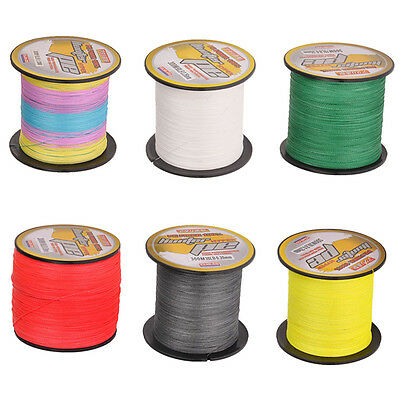 Strong 300M 6 colors dyneema 100%PE spectra extreame braid fishing line
