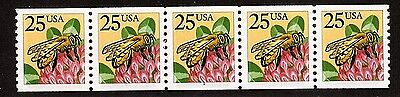 #2281 Honeybee  PNC-5  Pl #1 Tall Full serif  (C Press) - MNH