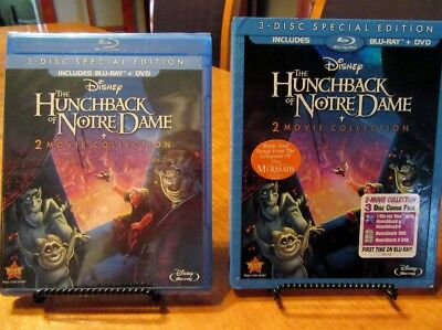 The Hunchback of Notre Dame (Blu-ray/DVD, 2013, 3-Disc Set, Special Edition)NEW