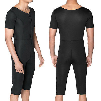 Weight Loss Sauna Sweat Gym Exercise Compression Fat Slimming Track Suit