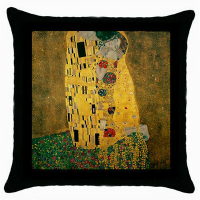 Gustav Klimt The Kiss Throw Pillow Case