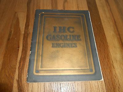 Rare Ihc Ih International Harvester Gasoline Engines Catalog Advertising Tractor