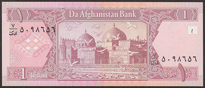 Afghanistan 2 piece banknote lot-1 x 1 /& 2 Afghanis-2002  P-65//65 UNC currency