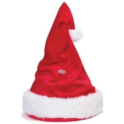 Singing And Dancing Santa Hat With Adjustable Head Band