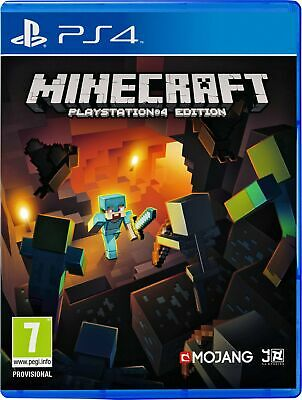 Minecraft Sony Playstation PS4 Game