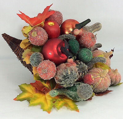 Waterford Holiday Heirlooms Autumn Cornucopia Thanksgiving Table Centerpiece