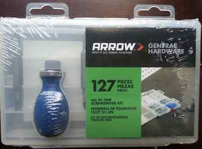 Arrow 160460 All In One Screwdriver Kit 127 Pieces