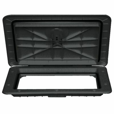 "Watertight Marine/Boat Compartment Access Hatch 13"" x 24"" - Black"