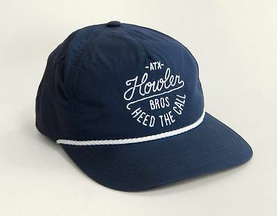 Howler Brothers 4-STROKE Nylon Hat ~ Navy NEW ~ Closeout