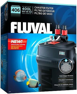 Fluval 406 A217 External Canister Filter up to 100 Gal