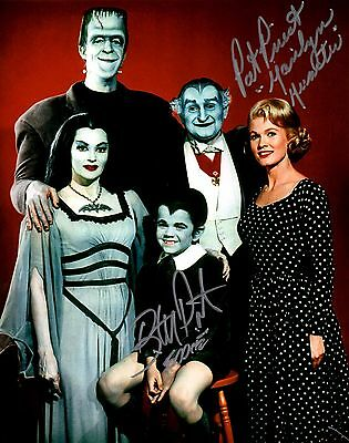 Pat Priest & Butch Patrick The Munsters Dual Autographed 8X10 Photo #5