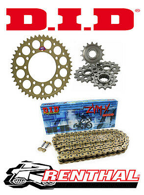 Renthal / DID 520 Race Chain & Sprocket Kit to fit Yamaha YZF R1 2015 -