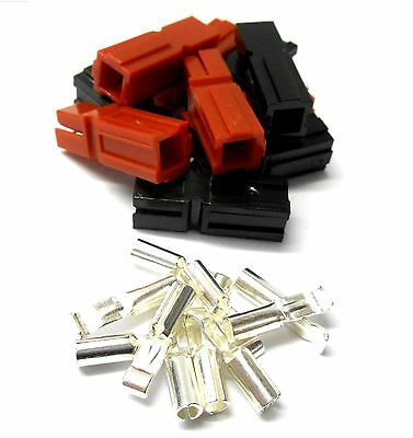 CAndersonx5 RC Male Female Anderson Plug Battery Connector x 5 Sets Loose