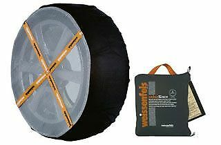 WeissSock Anti-Skid Traction Device for Tyre Size  R14, R15, R16, R17, R18, R19