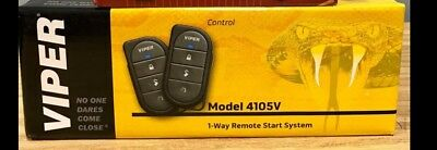 Viper 4105V 1-Way 4-Button Remote Start System with Keyless Entry