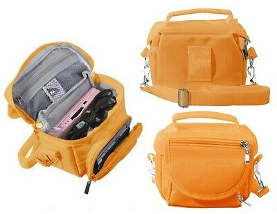 Orange Travel Bag Carry Case For Nintendo 3DS 3DS XL DS LITE DSi DSi XL