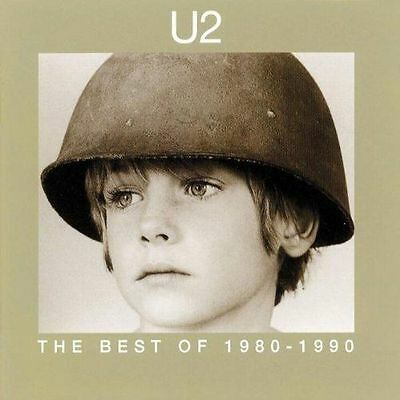 U2 : The Best Of: 1980-1990 CD (1998) - 14 Great Tracks - Good Condition