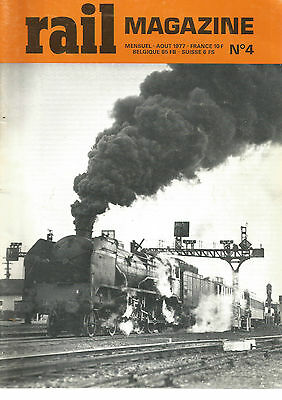 Rail Magazine N°04 231 B Nancy / Tee / Paris-Lyon / Voitures A Essieu / Berliet