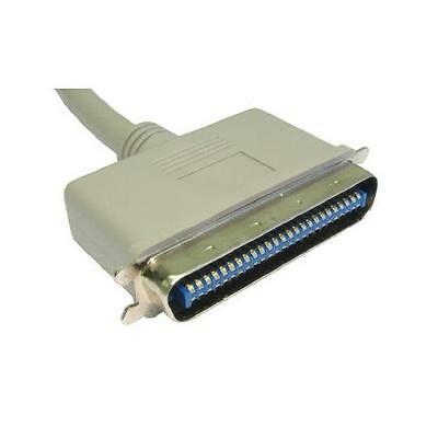 GC404 - 3 Metres 50 CENTRONICS (SCSI 1) Male to Male GREY SCSI CABLE