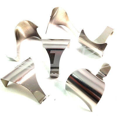 10 x CHROME DADO RAIL MOULDING PICTURE HANGING HOOKS PHOTO FRAME HOOK (AN9)