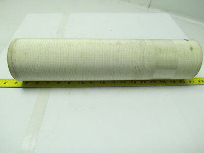 "2 ply white rubber smooth top nylon backed conveyor belt 6'x16""x 0.100"" thick"
