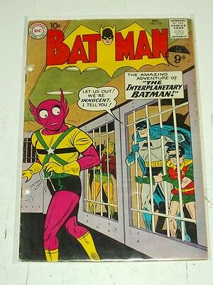 Batman #128 Fr (1.0) Dc Comics December 1959<*