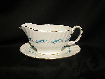 Minton DOWNING - Gravy Boat & Stand
