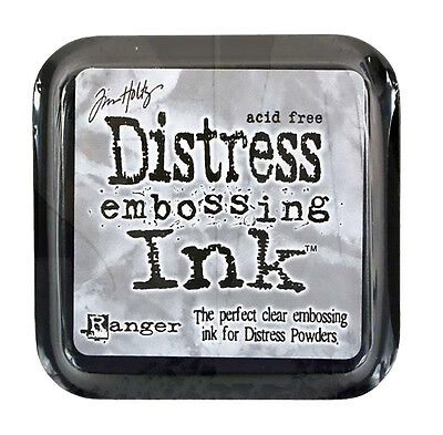 Tim Holtz Distress Ink Pad Full Size EMBOSSING INK Clear