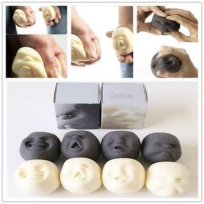 Novelty Stress Pressure Reliever Anti-stress Human Face Ball Christmas Gifts Y