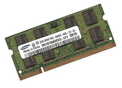 2GB Samsung Netbook / Notebook RAM DDR2 SO DIMM 800 Mhz PC2-6400S Laptop Memory