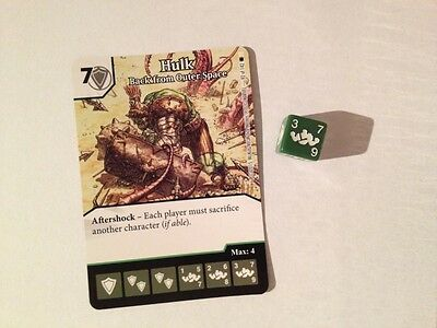 Marvel Dice Masters Amazing Spider-Man - Hulk: Back from Outer Space #092