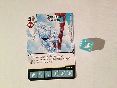 Marvel Dice Masters Amazing Spider-Man - Iceman: Cool Dude #123
