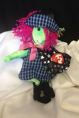 """SCARY"" THE WITCH Ty Beanie Baby NEW MWMT""S"