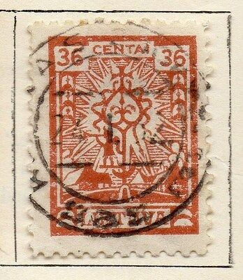 Lithuania 1923 Early Issue Fine Used 35c.