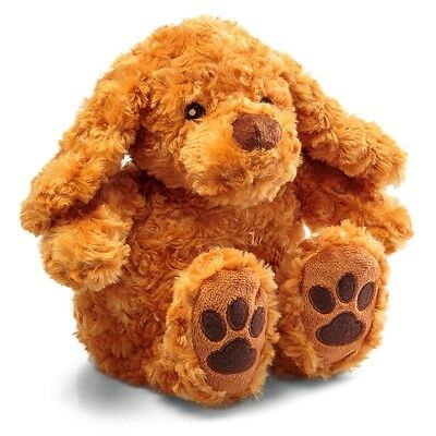 Snuggly Pup Fluffy Cuddle Toy Microwaveable Pouch Inside Hot Water Bottle