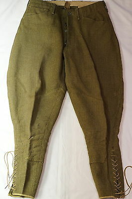 WW1 US AEF American Expeditionary Force Trousers Pants Breeches
