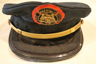Canadian Ontario Fire Marshals Office Peak Cap With Badge