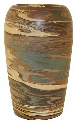 Niloak Pottery Early Mission Swirl Tapered Vase
