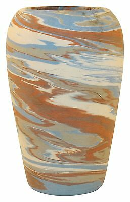 Niloak Pottery Mission Swirl Colorful Tapered Vase
