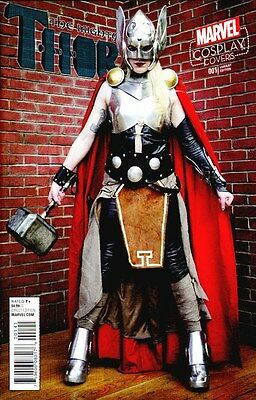 Mighty Thor #1 1:15 Cosplay Variant Jane Foster All New All Different Marvel